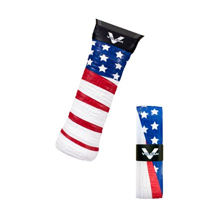 - Vulcan Max Cool Pickleball Overgrip 3pk. / Old Glory