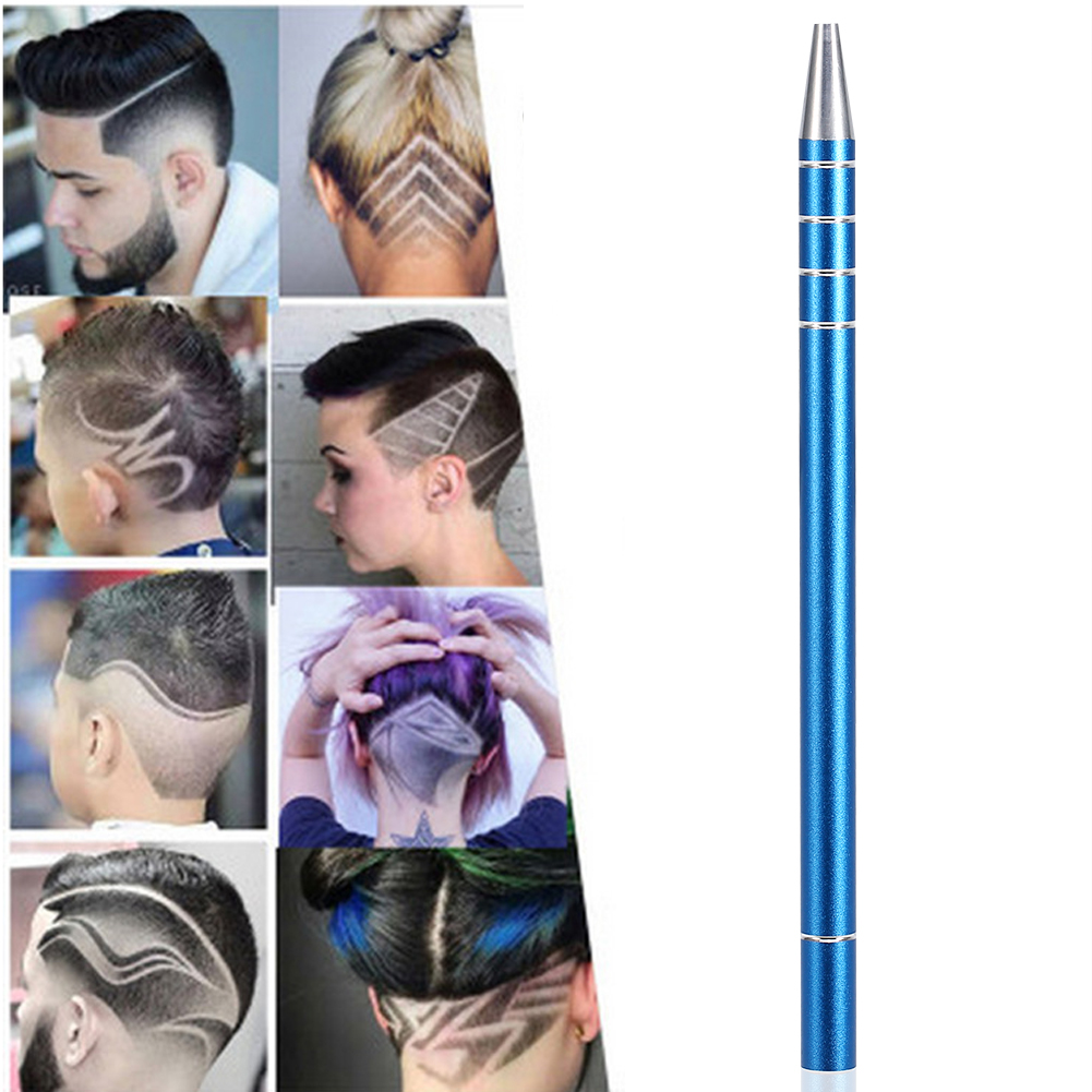 EECOO Salon Engraved Pen,Hair Razor Pen,5 Colors Multifunctional Professional Salon Beard Hair Styling Magic Engraved Razor Pen