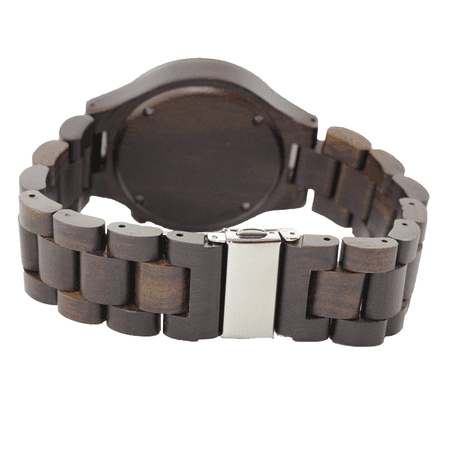 Angie Wood Creations Dark Sandalwood Women's Watch With Matching Bracelet - image 3 of 7