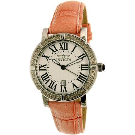 Women 13967 Wildflower Stainless Steel Watch with Interchangable Straps ()