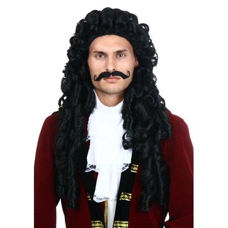 Elite Captain Hook Wig for $<!---->