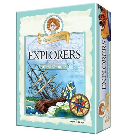 Profeessor Noggins Card Games Type Explorers
