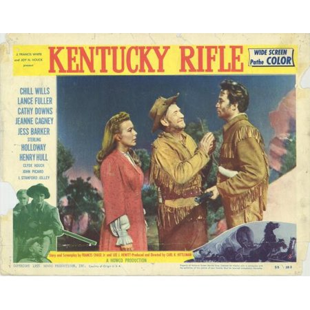 Kentucky Rifle - movie POSTER (Style C) (11