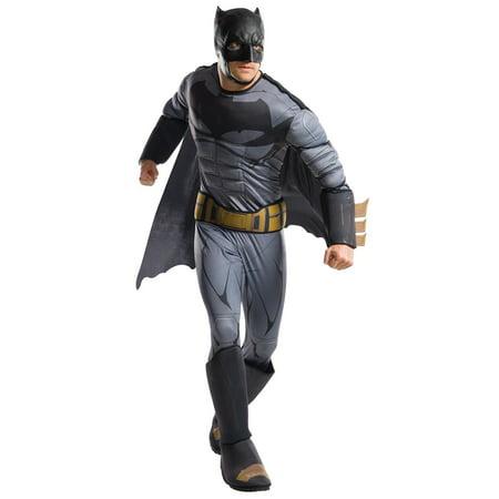 Justice League Movie - Batman Deluxe Adult Costume XL (Batman Costume Movie)