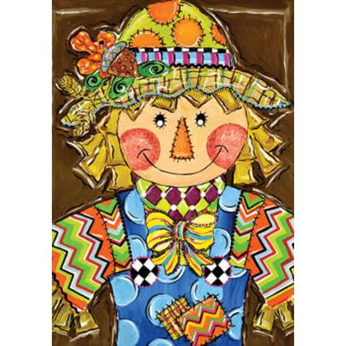 Custom Decor Whimsy Scarecrow-Fm