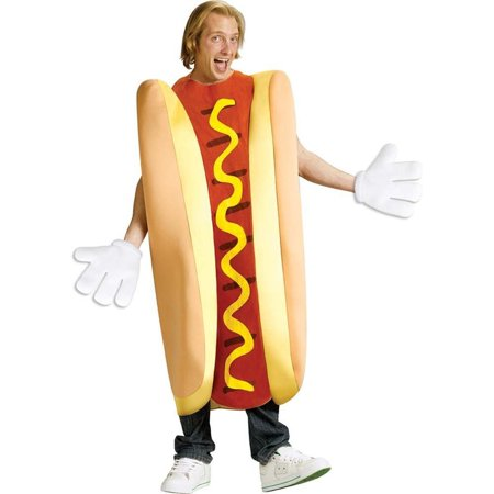 Hot Dog Adult Halloween Costume for $<!---->