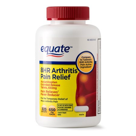 Equate Arthritis Pain Relief Extended Release Caplets  650 Mg  Choose Your Count