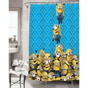 minion bathroom set. Universal s Minions Fabric Shower Curtain Kids  Bathroom Walmart com