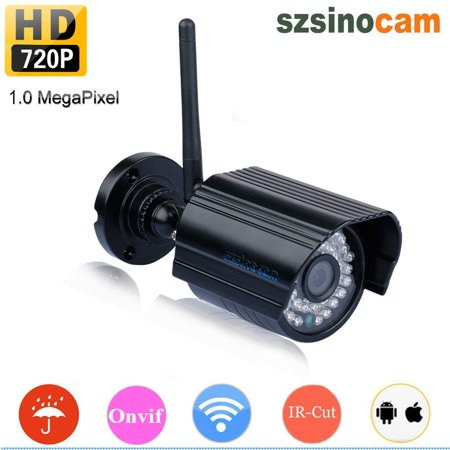 WiFi Camera Outdoor, Security Surveillance CCTV, 720P HD Night Vision Cameras, Waterproof Security Camera, IR LED Motion Detection IP Cameras for Indoor Outdoor, Support Max 128GB SD (Best Outdoor Cctv Camera)