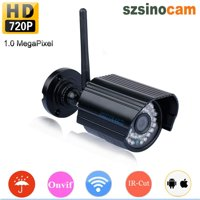 WiFi Camera Outdoor, Security Surveillance CCTV, 720P HD Night Vision Cameras, Waterproof Security Camera, IR LED Motion Detection IP Cameras for Indoor Outdoor, Support Max 128GB SD Card