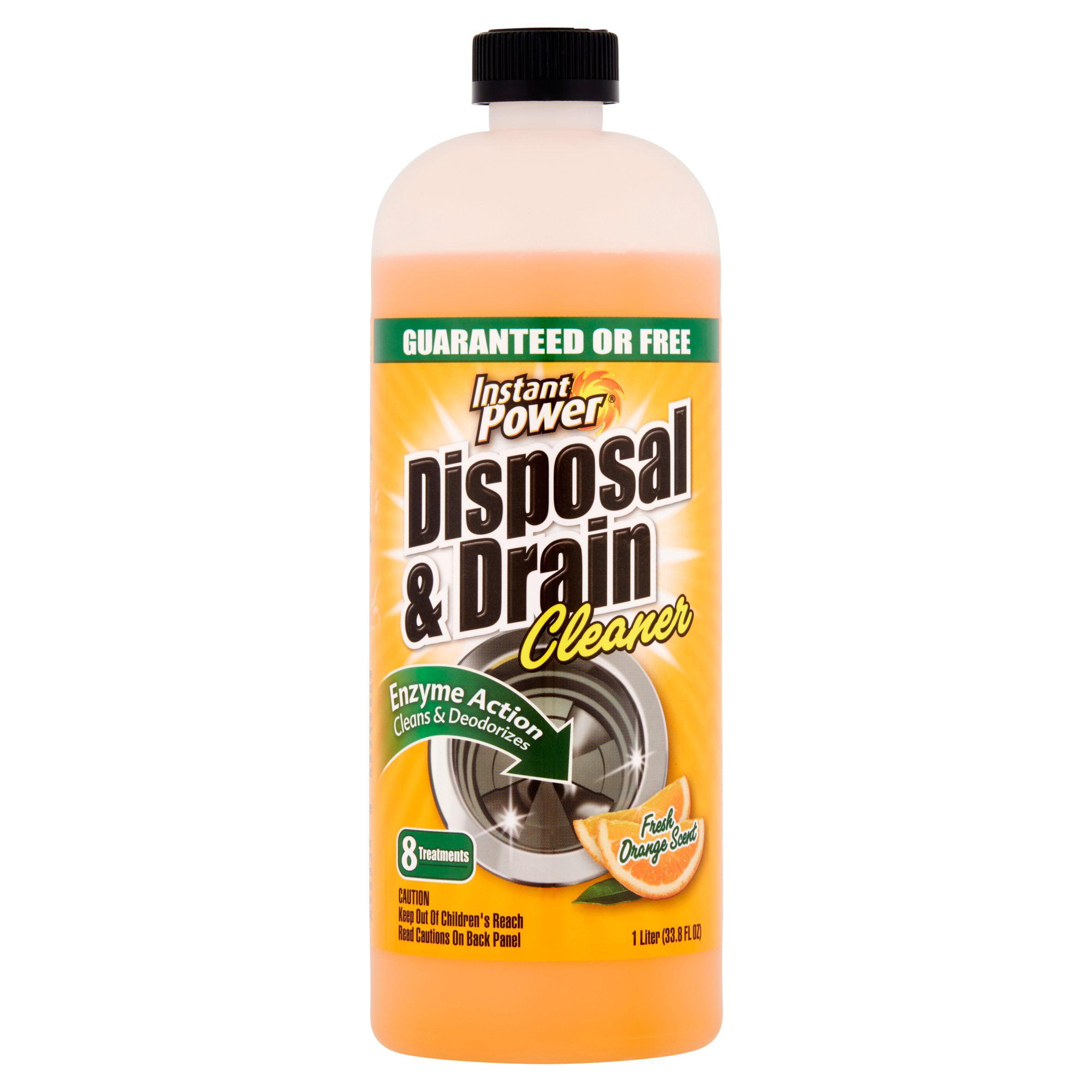 Instant Power Fresh Orange Scent Disposal & Drain Cleaner, 33.8 fl oz