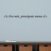 Belvedere Designs LLC Ora Mas Spanish Wall Quotes  Decal
