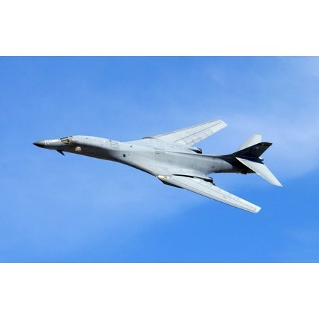 LAMINATED POSTER Lancer Aircraft B1b Swept Wing Military Bomber Poster Print 11 x (Iso Swept Wing)