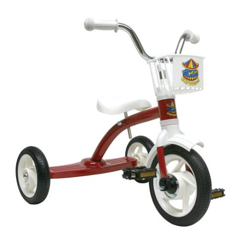 Carousel Tricycle 10In Red