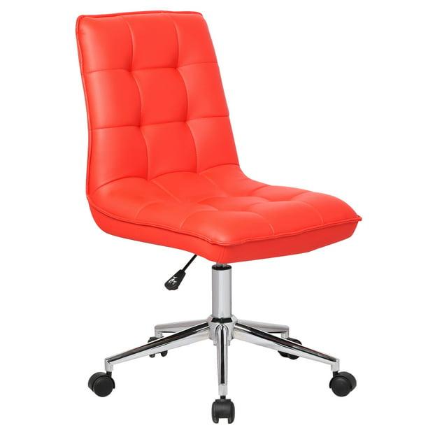 Porthos Home Leona Leather Adjustable Office Chair Walmart Com Walmart Com