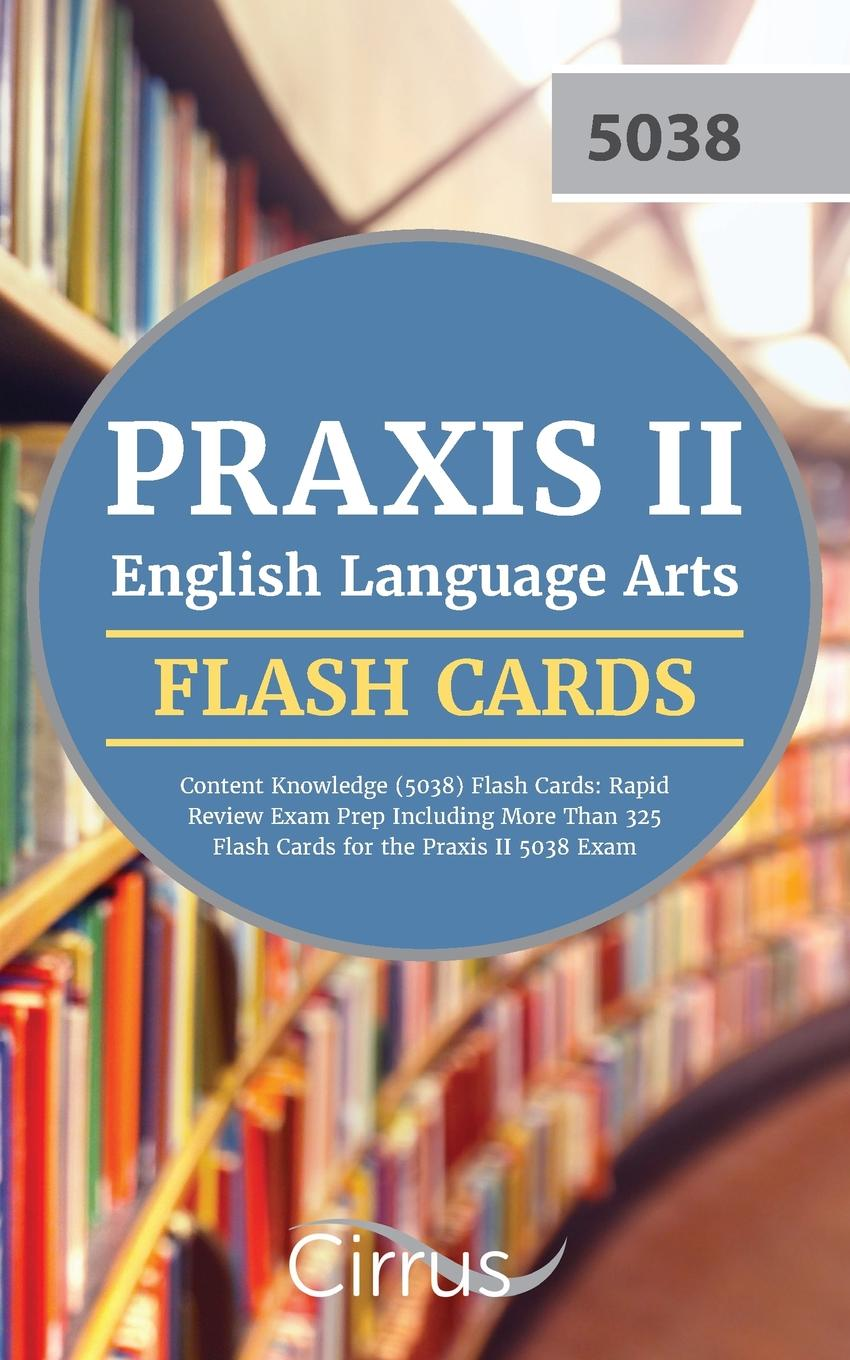 praxis ii english language arts content knowledge 5038 flash cards rh walmart com praxis 5038 study guide doc For Elementary Education Praxis Study Guide