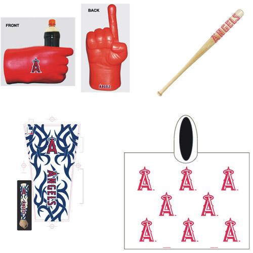 MLB Game Day Fan Pack, Angels