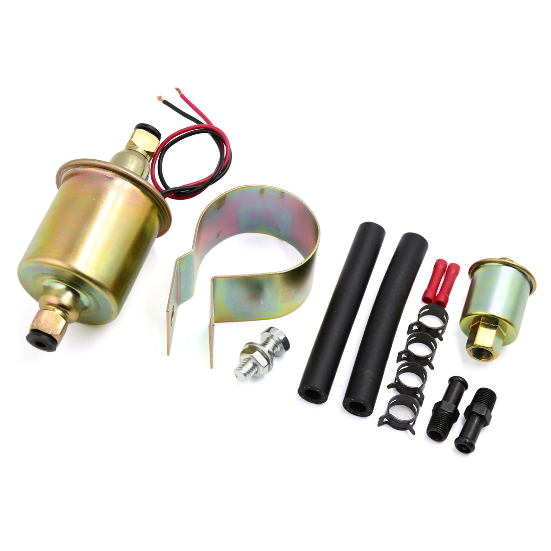 New Automotive Universal Electric Fuel Pump With Installation Kit E8016S