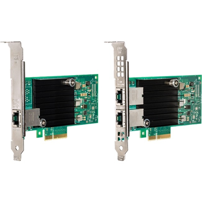 Intel Ethernet Converged Network Adapter X550-T1 - PCI Express 3.0 x16 - 1 Port(s) - 1 - Twisted Pair - Bulk