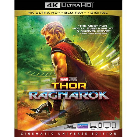 Thor: Ragnarok (Cinematic Universe Edition) (4K Ultra HD + Blu-ray +