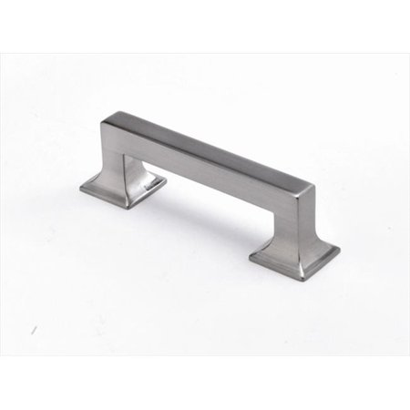 128mm Studio Collection Satin Nickel Cabinet Pull (Hardware Sector 128mm Acrylic Insert)