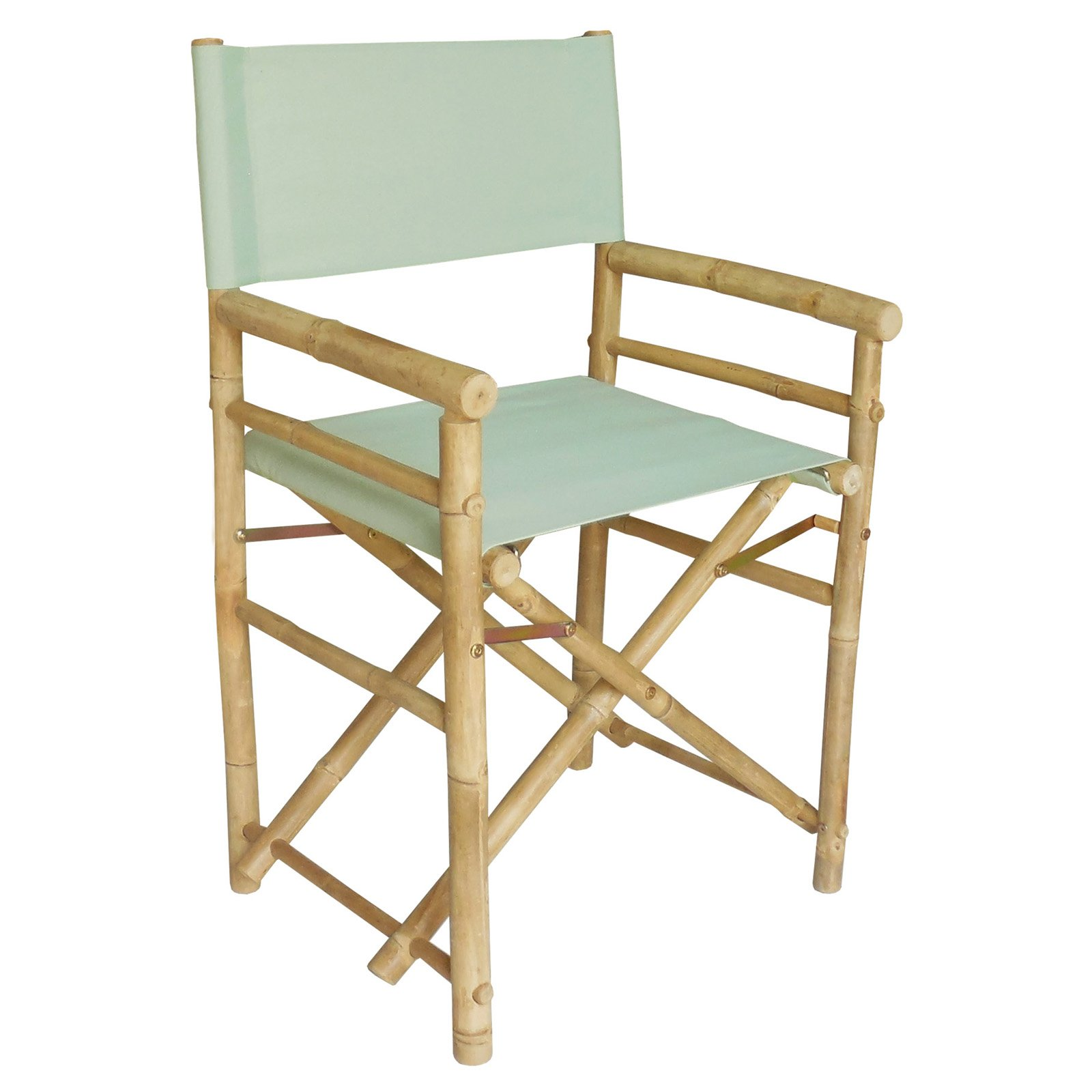 Genial Bamboo 18 Inch Standard Height Directors Chairs With Solid Cover   Set Of 2    Walmart.com