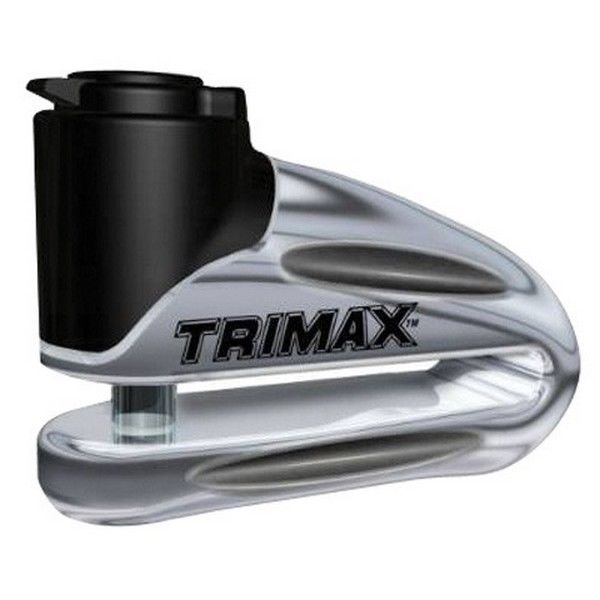 Trimax 348001 Motorcycle Disc Lock Chrome