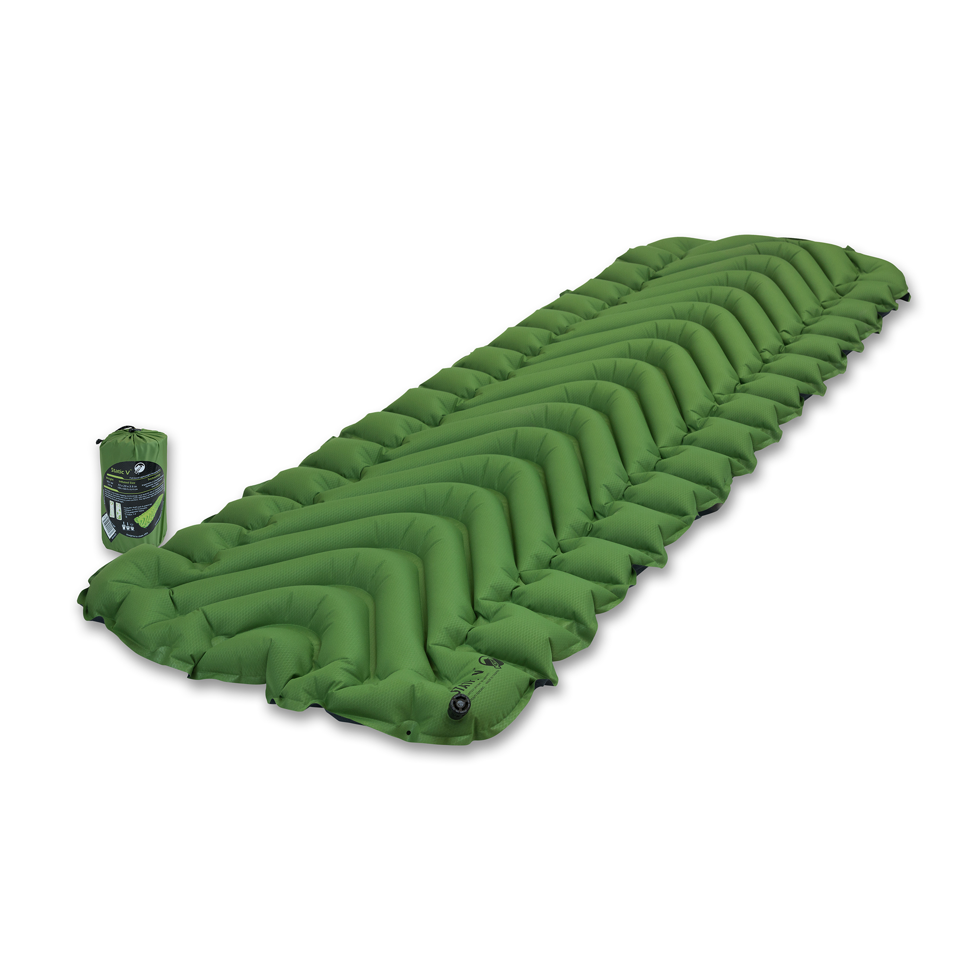 Klymit Static V Sleeping Pad, 06SVGr01C by KLYMIT
