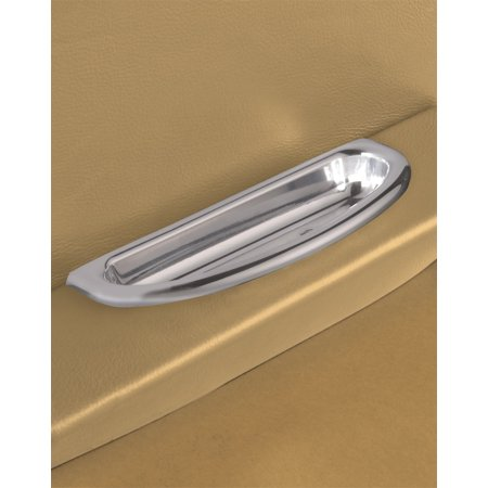 Lokar IDP-2003 LOCIDP-2003 BILLET ALUMINUM CRESCENT OVAL ARM REST DOOR PULL Billet Aluminum Swing Arm