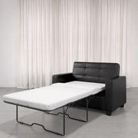 Mainstays Loveseat Sleeper Sofa, Twin, Multiple Colors