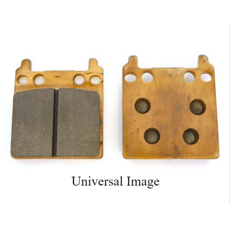 Rear Grooved Brake Pads for Harley Davidson VRSCR Street Rod 2005-2007