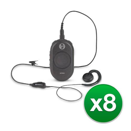 Motorola CLP1010 (8 Pack) Two Way Radio Walkie Talkie by MOTOROLA