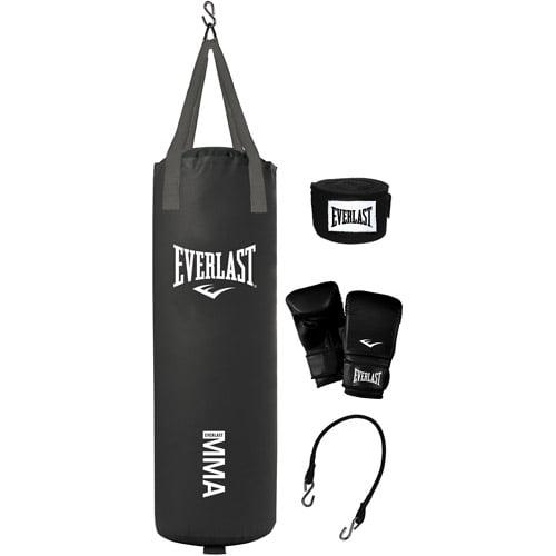 Everlast 70 lb Mixed Martial Arts (MMA) Heavy Bag Kit