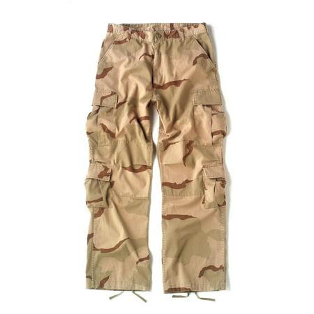 Vintage Paratrooper Cargo Pants in Desert Camo BDUs