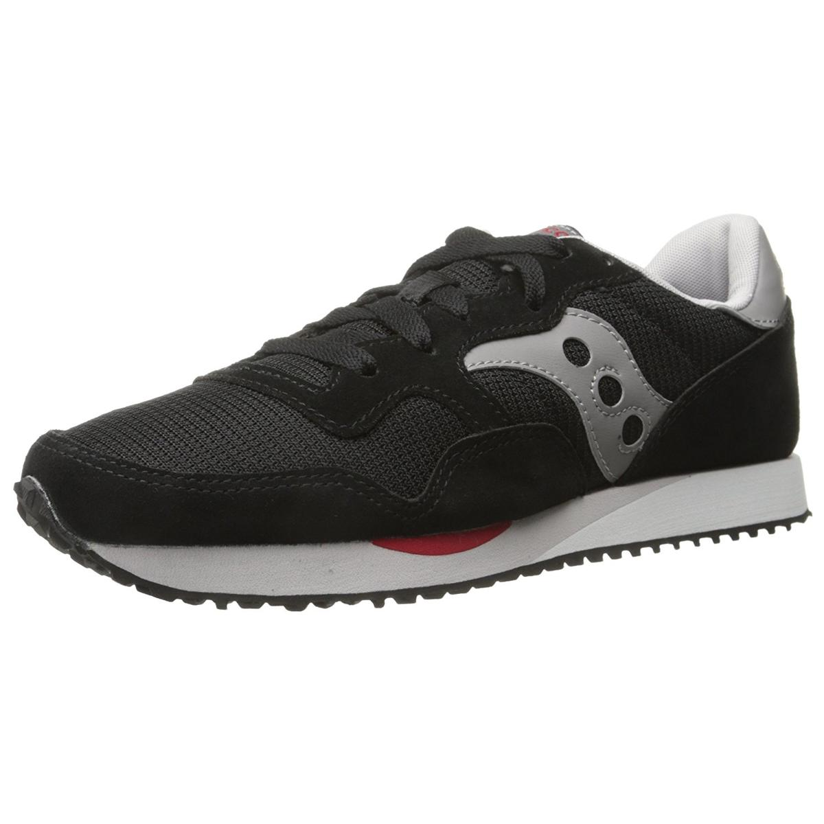Saucony DXN Trainer Mens Black Grey Sneakers by Saucony
