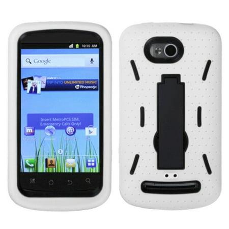 Coolpad Quattro 4G 5860E Phone Case, Coolpad Quattro 4G 5860E Case, by  Insten Symbiosis Soft Hybrid Rubber Hard Cover Case For Coolpad Quattro 4G