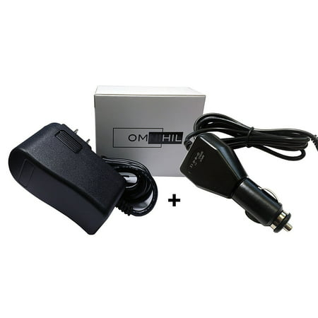 OMNIHIL (8 FT) AC Adapter and (5 FT) Car Charger for PASLODE BATTERY ...