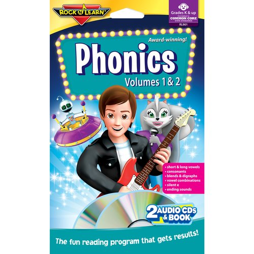 Rock N Learn Phonics Double Book Program CD