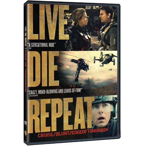 Live Die Repeat: Edge Of Tomorrow (DVD + Digital HD) (With Ultra Violet)
