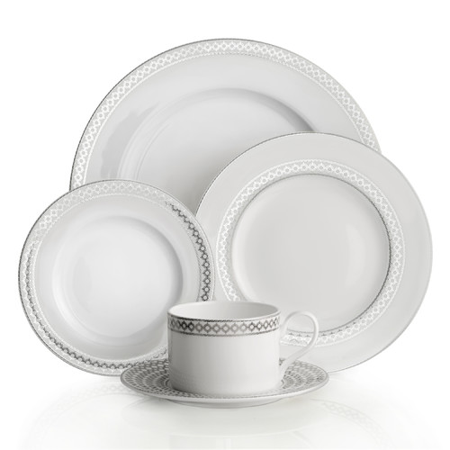 Auratic Inc. Binche 5 Piece Place Setting by Auratic Inc.