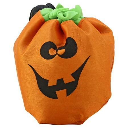 Foldable Pumpkin Trick Or Treat Bag - CASE OF 48](Trick Or Treat Pumpkins)