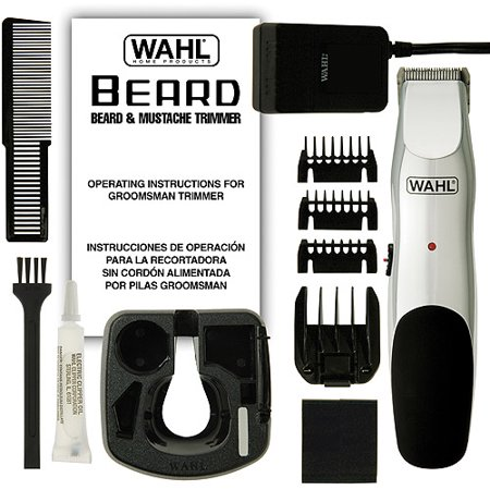 wahl groosman beard and moustache trimmer. Black Bedroom Furniture Sets. Home Design Ideas