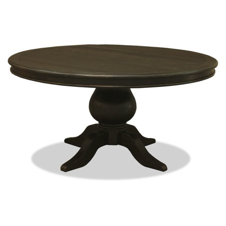 california round pedestal dining table antique grey