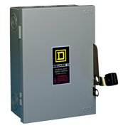 Square D Fusible Safety Switch With Neutral