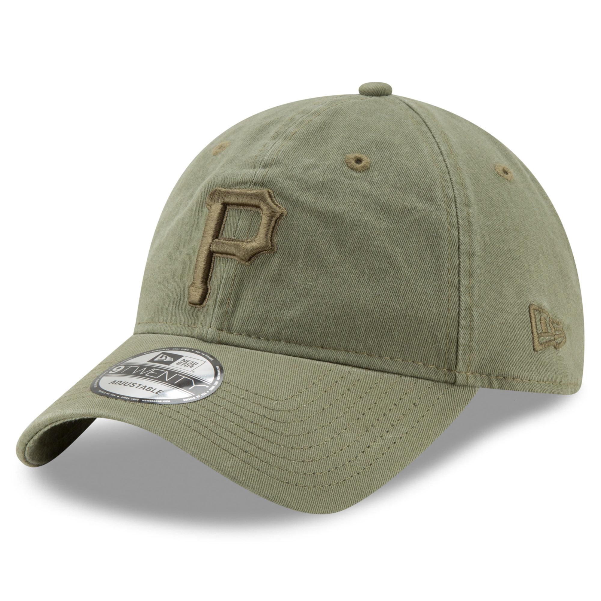 Pittsburgh Pirates New Era Tonal Bark Core Classic 9TWENTY Adjustable Hat - Green - OSFA