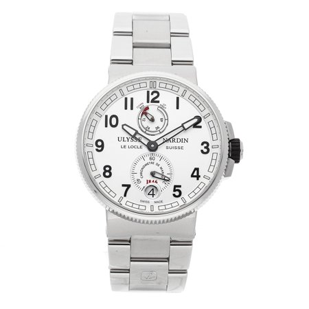 Pre-Owned Ulysse Nardin Marine Chronometer Manufacture 1183-126-7M/61