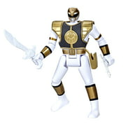 Power Rangers Retro-Morphin White Ranger Tommy Fliphead Action Figure