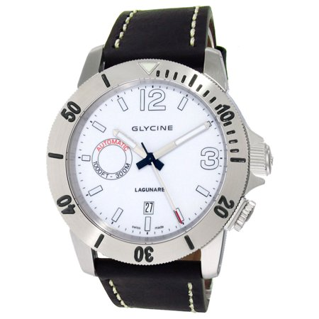 Lagunare Automatic L1000 Steel Mens Divers Watch White Dial 3899.11.D9