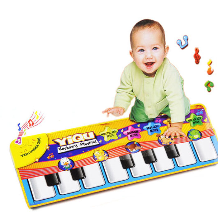 DZT1968New Touch Play Keyboard Musical Music Singing Gym Carpet Mat Kids Gift