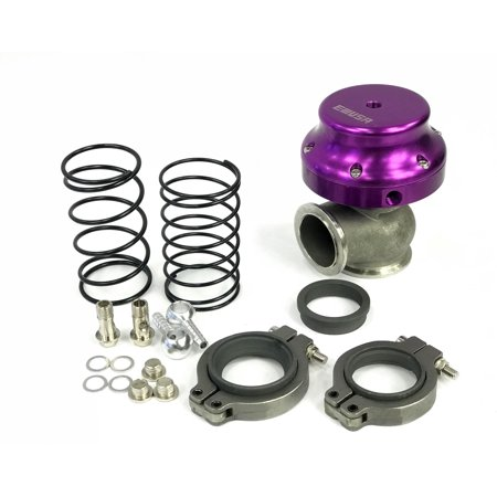 EMUSA 38mm V Band Turbo Actuator Wastegate Adjustable Springs V6 V8 Motor (Wastegate Actuator)